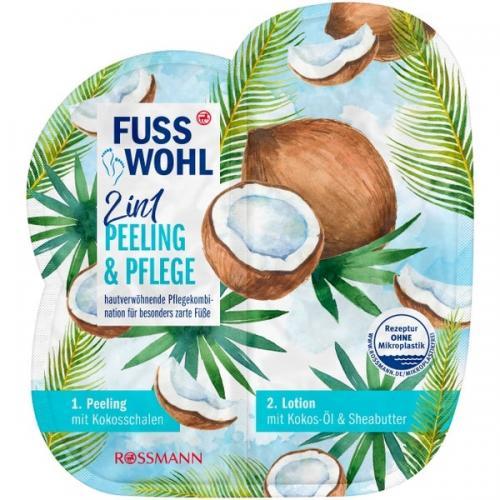 Fusswohl, 2in1 Peeling & Pflege (2 w 1 peeling i pielęgnacja)
