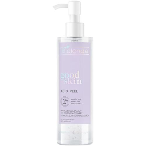 Bielenda, Good Skin, Acid Peel Micro-exfoliating Face Wash Gel (Mikrozłuszczający żel do mycia twarzy korygująco-normalizujący)