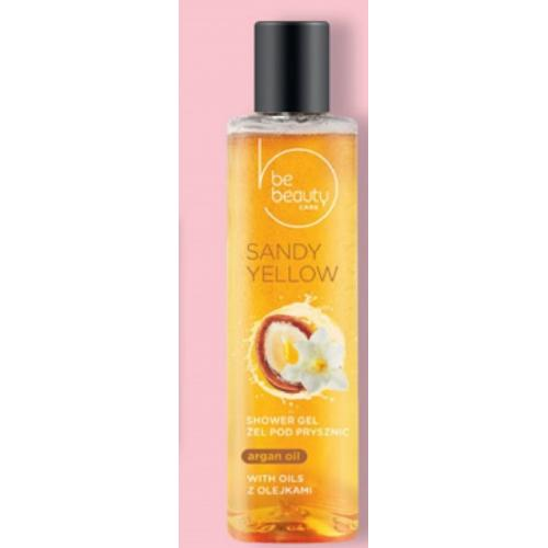 BeBeauty, Care, Sandy Yellow Shower Gel (Żel pod prysznic z olejkami)