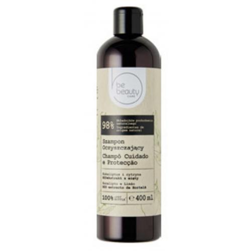 BeBeauty, Care, Szampon oczyszczający `Eukaliptus i cytryna`