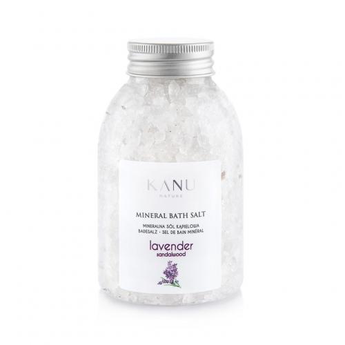 Kanu Nature, Sól mineralna do kąpieli `Lawenda`