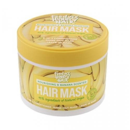 Action, Feedy'o Hungry Hair, Nourishing & Banana Scented Mask (Bananowa maska do włosów)