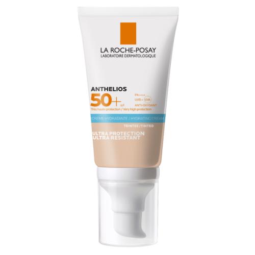 La Roche Posay, Anthelios 50+ Hydrating Cream Tinted (Krem BB do twarzy SPF50+)