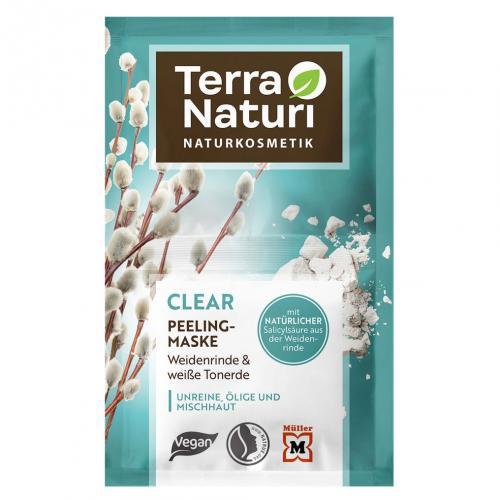 Terra Naturi, Clear, Peeling Maske (Maseczka peelingująca)