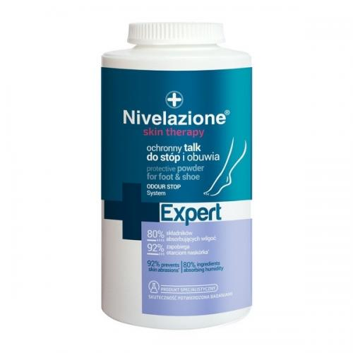 Nivelazione, Skin Therapy Expert, Ochronny talk do stóp i obuwia