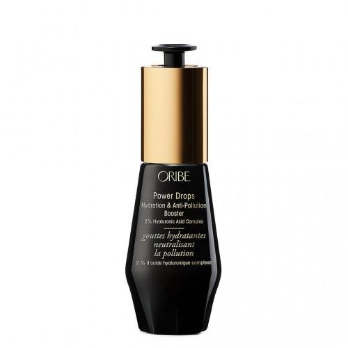 Oribe, Power Drops Hydration & Anti-Pollution Booster 2% Hyaluronic Acid Complex (Serum nawilżające i uszczelniające włosy z 2% kwasem hialuronowym)