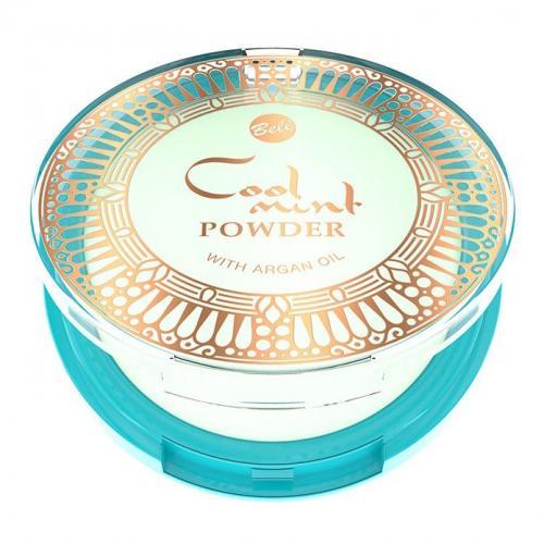 Bell, Oriental Tales, Cool Mint Powder with Argan Oil (Chłodzący puder do twarzy z miętą)