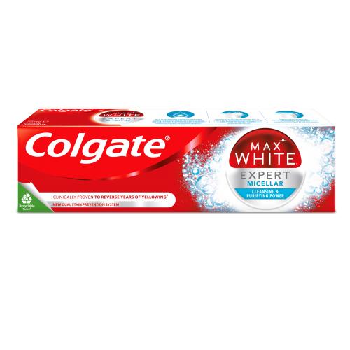 Colgate, Max White Expert Micellar (Wybielająca pasta do zębów)