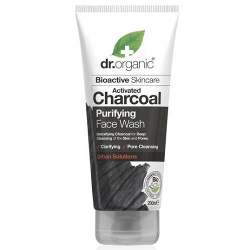 Dr.Organic, Activated Charcoal Purifying Face Wash (Żel do mycia twarzy z organicznym aktywnym węglem)
