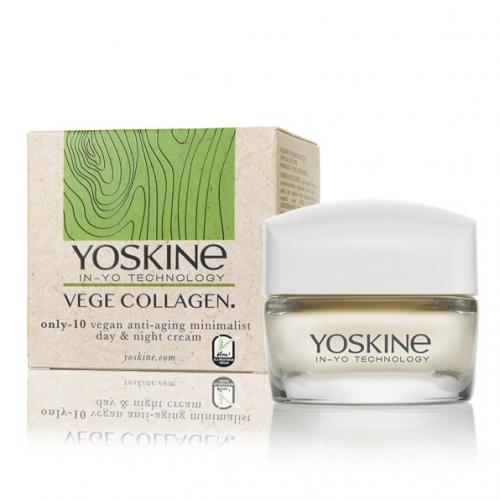Yoskine, Vege Collage, n Only - 10 Vegan Anti-Aging Minimalist Day & Night Cream (Wegański krem odmładzający na dzień i na noc)