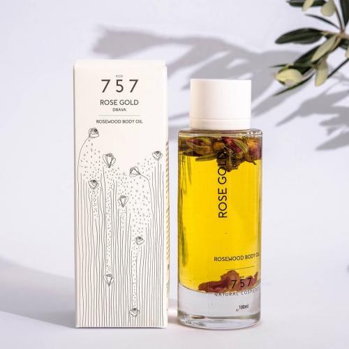 757, Rose Gold Body Oil (Oliwka do ciała z różą)