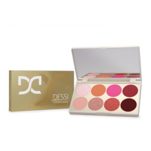 Dessi, Posh Pink Eyeshadow Palette (Paletka cieni do powiek)