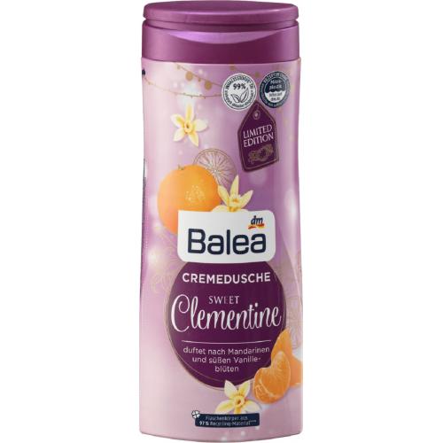 Balea, Cremedusche Sweet Clementine (Kremowy żel pod prysznic `Słodka klementynka`)