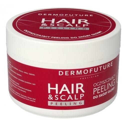 Dermofuture Precision, Hair & Scalp Peeling (Oczyszczający peeling do skóry  głowy) - cena, opinie, recenzja | KWC