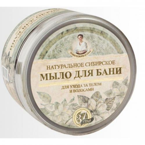 Receptury Babuszki Agafii, Zioła i Zbiory Agafii, Naturalne syberyjskie mydło do kąpieli `Czarne mydło Agafii`