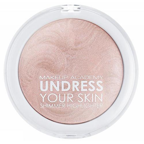 Make Up Academy (MUA), Undress Your Skin, Shimmer Highlighter (Puder rozświetlający do twarzy)