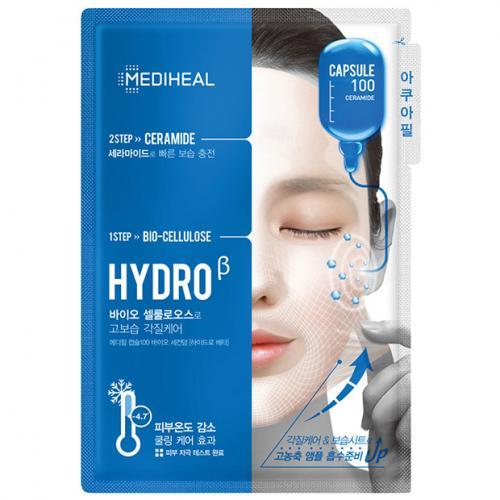 Mediheal, Capsule 100 ceramide, Hydro 2-step Mask (Uszczelniająca maska 2-etapowa z ceramidami)