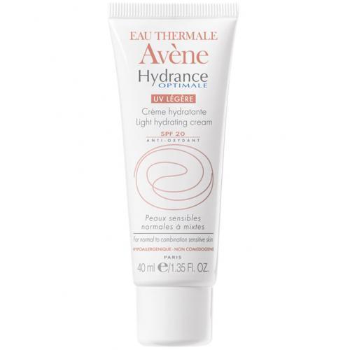 Eau Thermale Avène, Hydrance Optimale Legere [Light Hydrating Cream] (Krem nawilżający do skóry wrażliwej normalnej lub mieszanej)
