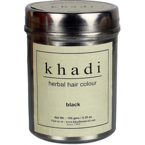 Khadi Herbal Hair Colour Black Ziolowa Farba Do Koloryzacji