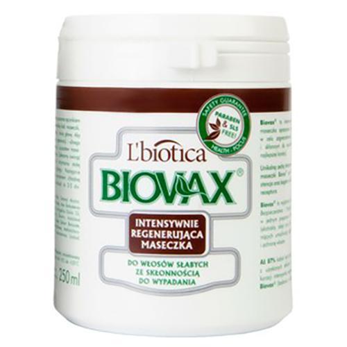 maska biovax do włosów wypadających