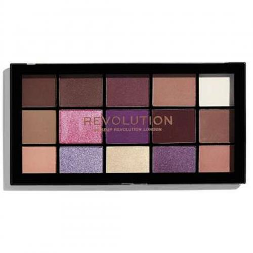 Revolution Beauty (Makeup Revolution), Re-Loaded Visionary Eyeshadow Palette (Paleta 15 cieni do powiek)