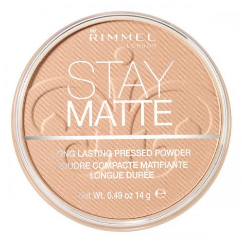 Rimmel, Stay Matte, Pressed Powder (nowa wersja)