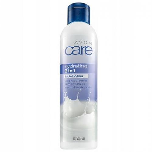 Avon, Care, 3 in 1 Hydrating Cleanser, Toner and Moisturiser [Hydrating 3 in 1 Facial Lotion] (Krem-żel do mycia twarzy z wyciągiem z aloesu i imbiru 3 w 1)