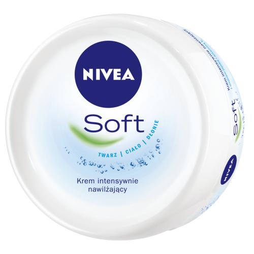 Nivea, Soft, Krem do twarzy i ciała (nowa wersja)
