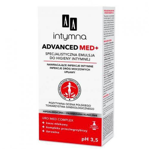 Aa Intymna Advanced Med Specjalistyczna Emulsja Do Higieny