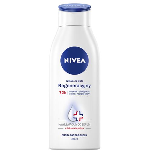 Nivea, Balsam do ciała regeneracyjny 72h ` Nawilżająca moc serum - ukojenie i pielęgnacja suchej i napiętej skóry`