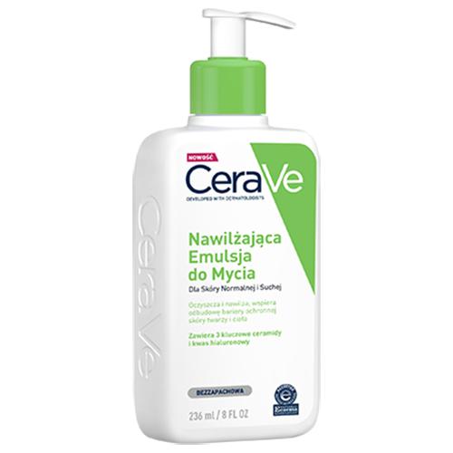 CeraVe, Nawilżająca emulsja do mycia dla skóry normalnej i suchej