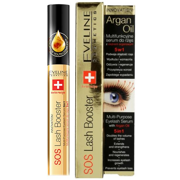 c3eddd411bf Eveline, Argan Oil, SOS Lash Booster (Serum do rzęs z olejkiem arganowym 5  w 1) - cena, opinie, recenzja | KWC