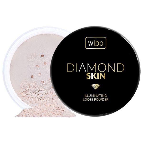 Wibo, Diamond Skin, Sypki puder do twarzy z kolagenem - cena ...