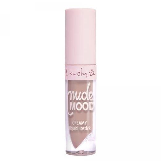 Lovely Nude Mood Creamy Liquid Lipstick - 2 - kremowa