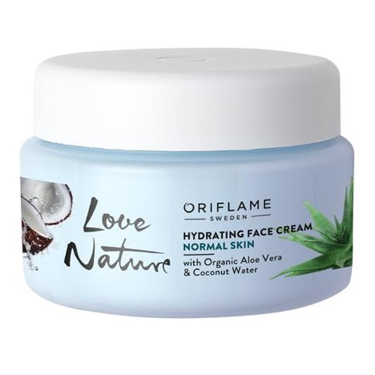 Oriflame, Love Nature, Hydrating Face Cream with Organic..