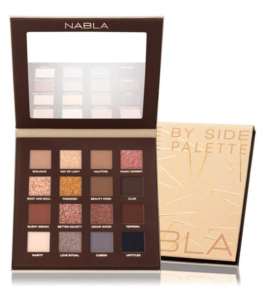 Nabla - palette di ombretti - Side By Side Nude Eyeshadow