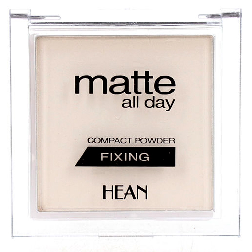 Hean Matte All Day Compact Fixing Powder Puder Utrwalajacy Transparentny Cena Opinie Recenzja Kwc