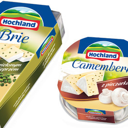 Nowe sery Hochland: Camembert i Brie
