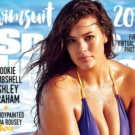 Modelka plus-size na okładce Sports Illustrated