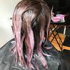 Farbowanie włosów w kolorze chocolate mauve