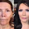 Spektakularne metamorfozy makijażowe
