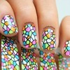 Window nail art
