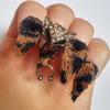 #nailpiercing - paznokcie z kolczykami