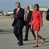 Para Prezydencka na lotniku w Palm Beach