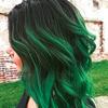 #greenhair - koloryzacja inspirowana Rihanną