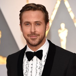 Ryan Gosling na gali rozdania Oscarów 2017