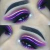 Neonowa kreska eyelinerem - nowy trend