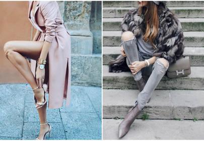 modna i seksowna stylizacja