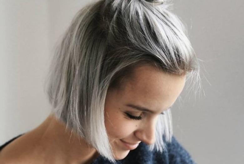 Hair Style Blog: Fryzura Top Knot W Stylu Gwen Stefani