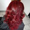 Cherry red hair - wiśniowe włosy